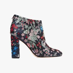 Fall's Best Boots for Under $500: Sam Edelman Cambell floral-brocade ankle boots, $160 net-a-porter.com