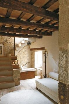 Home decor ideas with many pictures, Mediterranean style Earthship Home, Interior Architecture, Interior Design, Spanish Style Homes, Stone Houses, Rustic Interiors, Cool Rooms, My Dream Home, Ideal Home