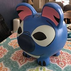 jennifer cooke added a photo of their purchase Winnie The Pooh, Large Piggy Bank, I Shop, My Etsy Shop, Martha Stewart Crafts, Jack And Sally, Male Hands, Hand Painted Ceramics, Amazing Spider