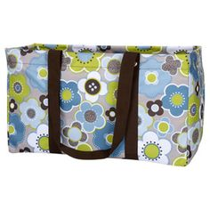"""Product # 3121  Large Utility Tote    This oversized bag holds a LOT! Perfect for sporting equipment, tailgating, camping trips, tools, etc. Covered rim keeps the bag open to carry bulky items and then easily collapses for storage. Measures approx: 11.75""""H x 21.5""""W x 10""""D  Price: $30.00"""