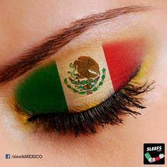mexican flag eye - Google Search
