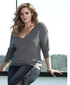 Love your Curves.....I love edgy pieces, but I also love girly and flirty