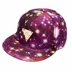 Women Floral Flower Snapback Hip-Hop Hat Flat Galaxy Adjustable Baseball Cap d477eb336d20