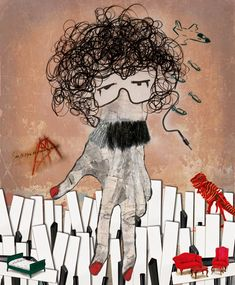 Charly García Graphic Prints, Graphic Art, Hey Mr Dj, Arte Alien, Rock Argentino, Rock Artists, Rock N Roll, Psychedelic, Artsy