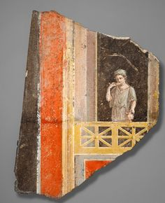 POMPEIAN RED  Pompeian red became a popular shade to paint the trendiest of 18th-century European dining rooms.  Named after the famous (and then brand-new) excavations at Pompeii, Italy, the color came into popularity after it was seen in frescoes inside excavated homes.  However, this red is actually a dehydrated form of yellow ocher.