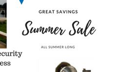 Starting Today through - Summer Sale on Mul-T-Lock High Security Locksmith Services, Sale On, Summer Sale