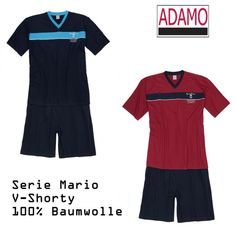 Adamo Shorty 119256 Mario XXL-10XL navy+bordeaux