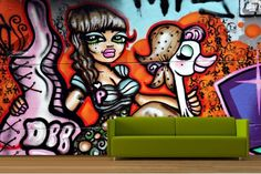 I will have a graffiti wall in my house sooner rather than later!