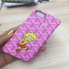 This Goyard Simpsons Mashup case is only available for a limited time . On Sale Now Limited Quantities available. Compatible iPhone Model: iPhone 6 Plus,iPhone plus,iphone 7 PlusCompatible Brand: Apple iPhonesType: CaseFunction: Dirt-resistant Best Iphone, Iphone 6, Iphone Cases, Iphone 7 Cases Wallets, Iphone Models, Leather Cover, Phone Cover, Phone Accessories, Leather Wallet