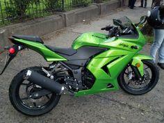 Ninja 250 color perfecto :-)