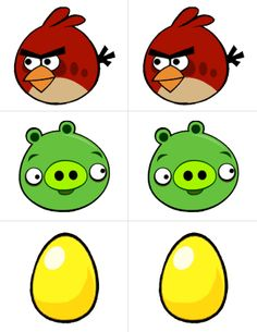 "Printable for The Contemplative Creative: Project : Angry Birds ""Toss Across"" Game"