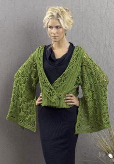 Crochet Jacket  Hand Crochet Unique Lacy Jacket  by KnuttinButYarn, $99.99