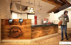5 hours of engraving on beautiful handmade wood counter by umake for Poulet cent façons, a very good chicken restaurant located in Laval QC, Canada Wood Counter, 5 Hours, Create Yourself, Canada, Restaurant, Chicken, Handmade, Beautiful, Design