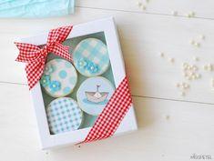 קישוט עוגיות אוררו עם דפים אכילים - אפשר להזמין במוטק