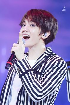 Baekhyun - 160110 Exoplanet #2 - The EXO'luXion in Singapore Credit: All Night.