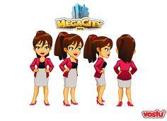Megacity - Personajes - Vostu on Behance