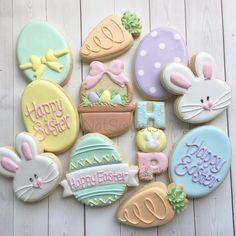 Last years Easter cookies!