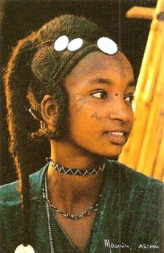 Atnip's Niger Girl with ornate hairstyle and gold coins details and small tightly braided pigtails Niger by Maurice Ascani African Hairstyles, Afro Hairstyles, Black Girl Magic, Black Girls, Traditional Hairstyle, Africa People, Black Royalty, Makeup Books, African Tribes