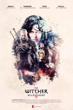 The Witcher 3 - Unofficial Poster by KokeNunezWorks.deviantart.com on @DeviantArt