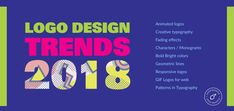 Logo design trends 2018   Logo Design Ideas And Trends For 2018 #logodesigntrends  #logodesign #logodesigners #graphicdesign #graphicdesigners #logodesigntrends2018 #logodesigntrend #animatedlogos #giflogo #creativetypography #Fadeeffects #MonogramsLetters #monogramlogodesign #monogramlogodesigns #Responsivelogodesign #frenchlogodesign #spanishlogodesign  #Scandinavianlogodesign #spanishlogodesign #japanlogodesign #arabianlogodesign