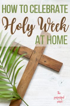 Here are some easy and worship-filled ideas and activities for families so you can celebrate Holy Week at home with your kids! Maundy Thursday Worship, Maundy Thursday Images, Holy Week Activities, Easter Activities, What Is Lent, Catholic Icing, Bible School Crafts, Easter Story, Easter Traditions