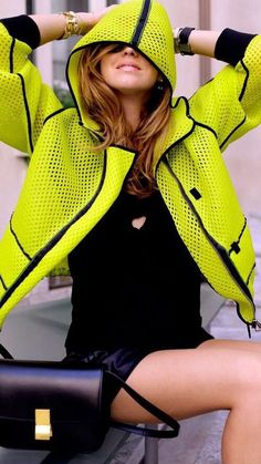 Celine | Chiara Ferragni | The Blonde Salad oakley $24.99:http://www.okglasseslove.com Love the Jacket....