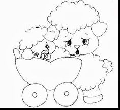 desenhos de carneirinhos para pintar Doodle Coloring, Colouring Pics, Coloring Books, Coloring Pages, Cartoon Pics, Cartoon Drawings, Animal Drawings, Baby Embroidery, Embroidery Patterns Free