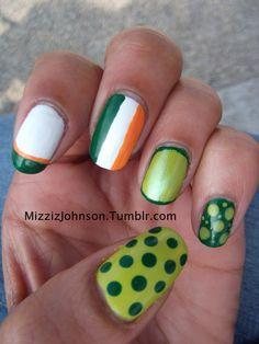 Saint Patrick's Day Nailz