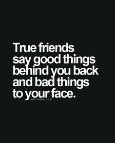 "Ooh.... Not necessarily ""bad"" things, but true things that may hurt."