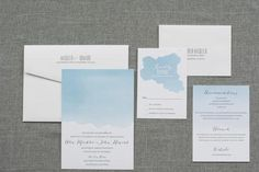 This wedding invitation has a soft yet bold watercolor theme that exudes a beauty. It is a great fit for both a bold, colorful wedding and a softer neutral pastel wedding. Each watercolor graphic has a hand dipped look to create a stunning invitation