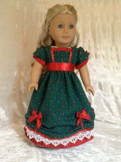 7afed8526 13 Best Holiday Doll Clothes images | 18 inch doll, American girl ...