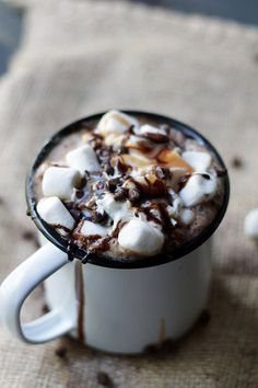 14 Recipes Every Coffee Lover Needs To Try: Spicy Hot Mocha. For more ideas, click the picture or visit www.sofeminine.co.uk