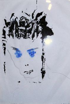 "Saatchi Online Artist  kostya goldtv Mitenev; Painting, "" ""A priest of Maya"" by kostya goldtv"" #art"