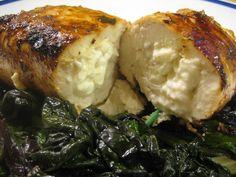 Christine Cooks: Feta Stuffed Chicken Breast