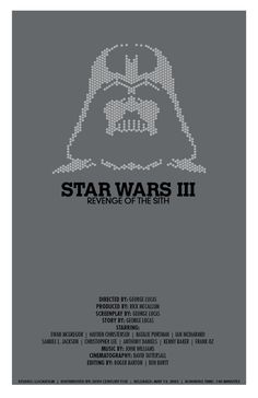 Star Wars: Revenge of the Sith - movie poster - Christian Petersen