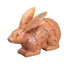 3D Wooden Bunny Puzzle