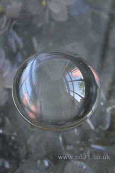 Crystal Ball for GOOD LUCK  Photo by www.no21.co.uk