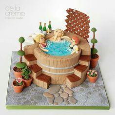 Pool/ Jacuzzi Cake