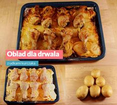 Obiad dla DRWALA Kobieceinspiracje.pl French Toast, Food And Drink, Lunch, Meat, Chicken, Cooking, Breakfast, Impreza, Recipes