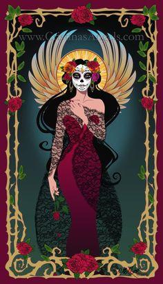 La Llorona at El Dia de los Muertos = La Rosa