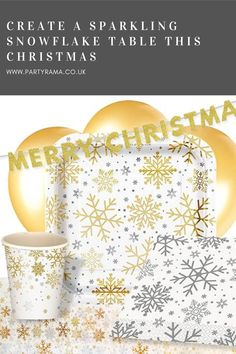 Decorate your Christmas table with sparkling snowflake themed plates, cups and napkins. All can be matched with balloons and other decorations from our huge range. Christmas Decorations, Christmas Tree, Table Decorations, Perfect Party, Best Part Of Me, Decorative Accessories, Decorating Your Home, Snowflakes, Party Supplies