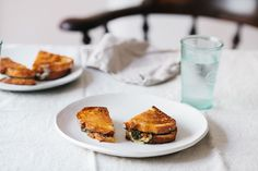 Grilled Cheese with Zucchini, Basil, and Gruyère Recipe