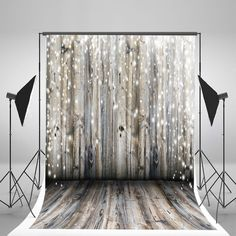 Amazon.com : 5x7ft Light Grey Wood Wall Photography Backdrop Gray Wooden Floor Photo Backgrounds for Christmas CCJ02424 : Camera & Photo