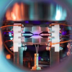 Overall 1stSingle Atom in an Ion Trap by David Nadlinger, University of Oxford In the centre of the picture, a small, bright dot is visible: a single positively-charged strontium atom. It is held nearly motionless by electric fields emanating from the metal electrodes surrounding it. Laser-cooled atomic ions provide a pristine platform for exploring and harnessing the properties of quantum physics. They are used to construct very accurate clocks or, as in this research, as building blocks…