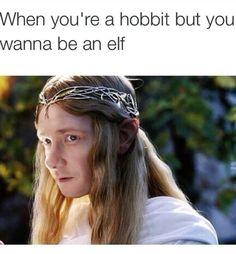 Bilbo Galadriel???? hahahahahaha <<< I have no words.