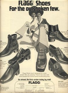 Fashion Ads From The 1970s
