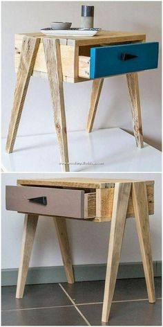 Art of Recycling: 25 DIY Wood Pallet Reusing Projects This is quite an inventive creation of Diy Furniture Plans Wood Projects, Diy Pallet Furniture, Diy Pallet Projects, Recycled Furniture, Diy Wood Projects, Wood Furniture, House Furniture, Pallet Ideas, Furniture Design