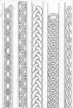 Risultati immagini per celtic band pattern