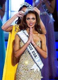Miss Texas Crystal Stewart wins Miss USA