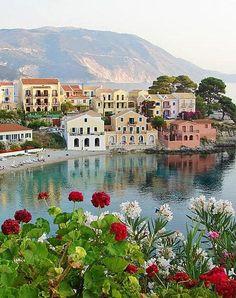 Cephalonia or Kefalonia Islands in western Greece: